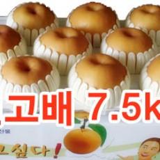 신고배 선물세트7.5kg (9~10과)